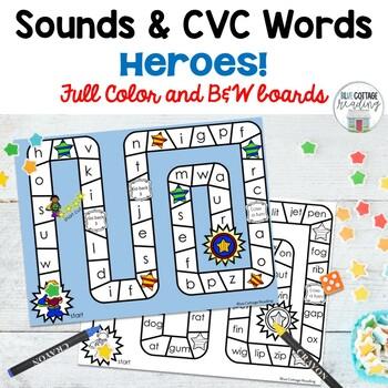 Superhero sounds