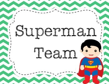 Superhero table names
