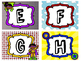 Superhero-theme Word Wall Labels
