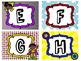 Superhero-theme Word Wall Labels