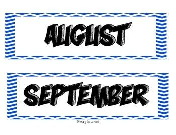 Superhero theme calendar pieces