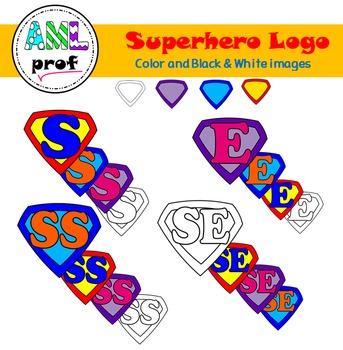 Superhero theme (logo clipart Super-héros)