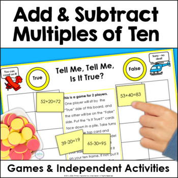 Superheroes! Adding and Subtracting Multiples of Ten