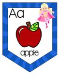 Superheroes Alphabet to go with Fundations Alphabet cards
