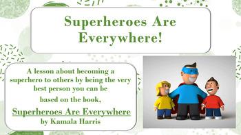 Superheroes are everywhere pdf
