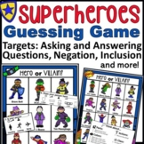 Superheroes Asking and Answering Questions Game