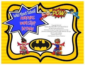 Superheroes Batman Reader Workshop