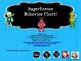 Superheroes Behavior Chart
