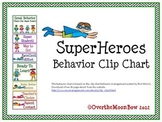 Superheroes Behavior Clip Chart