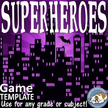 Superheroes Bomb Game Template