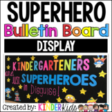 Superheroes Bulletin Board Display