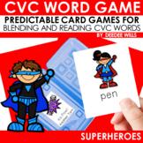 CVC Superheroes  Memory Match and Gotcha! Game