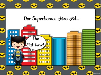 Superheroes Class Location Signs