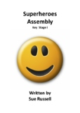 Superheroes Class Play for 5 to 7 year olds