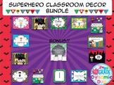 Superheroes Classroom Decor Bundle