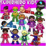 Superheroes Clip Art Bundle {Educlips Clipart}