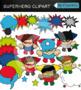 Superheroes Clipart Bundle