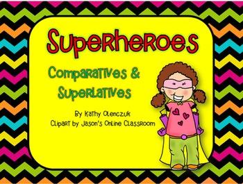 Comparative & Superlative Adjectives -- A CCSS Language Smarboard Game