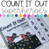 Superheroes Count It Out Adapted Books