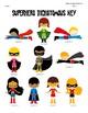 Superheroes Dichotomous Keys