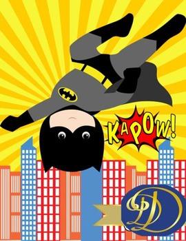 Superheroes & Friends Binder Covers 10 PK