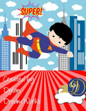 Superheroes & Friends Having a Field Day (Assorted  Binder