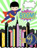 Superheroes & Friends On The Lose Binder Covers 10 PK