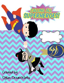 Superheroes & Friends  To the Rescue (Assorted Adventures  Binder Covers 10 PK)