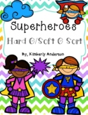 Superheroes Hard G / Soft G Card Sort and Practice