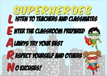 Superheroes LEARN