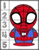 Superheroes Line Puzzles #1-5 | Six Characters