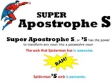 Superheroes Possessive Noun Unit