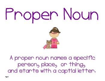 Superheroes Proper Nouns