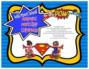 Superheroes Superman Reader Workshop