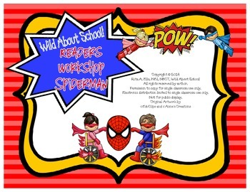 Superheroes Spiderman Reader Workshop