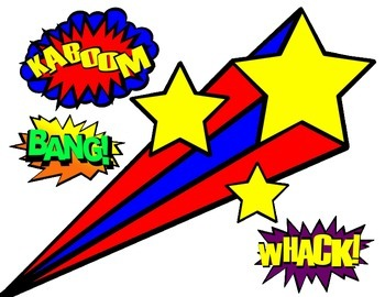 Superheroes Theme Classroom Decorations and Cutouts