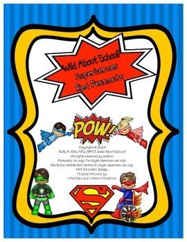 Superheroes Pennant Banner Red