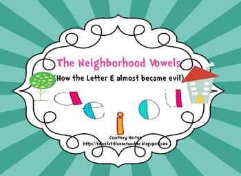 Superheroes Versus the Evil Villain Vowel (Bossy E and Long Vowel Resources)