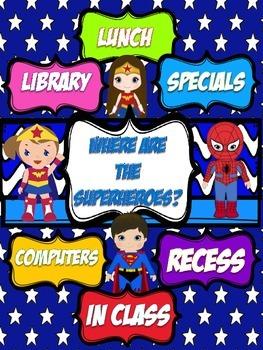 Superheroes Where are we Superhero