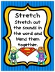 Superheroes Superman Word Decoding Strategies Posters