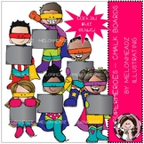 Superheroes clip art - Chalk Board - Mini - by Melonheadz