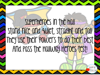 Superheroes in the Hall