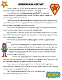Superheroes in the Science Lab Safety Story