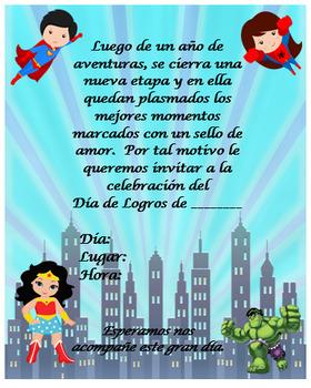 Superheroes invitation, Completely editable!!!!