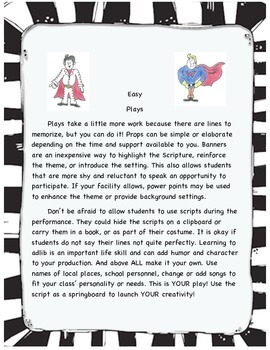 Superheroes of Wisdom - Easy play with character building themes