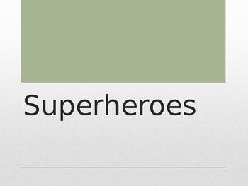 Superheros Geometry Unit