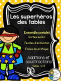 Superhéros des tables - Additions et soustractions - Ensemble complet