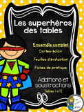 Superhéros des tables - Additions et soustractions - Ensem
