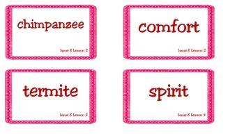 Superkids Magazine Unit 8 Vocabulary Cards
