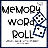 Superkids Memory Word Roll, Units 1-8